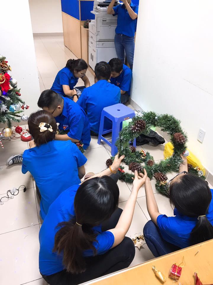 Đoàn Thanh niên chuẩn bị Noel cho Res7